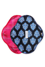 Natural cloth pads Exotic Blue_M_02