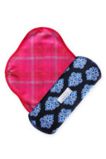 Natural cloth pads Exotic Blue_M_03