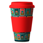 BambooCup Stamps-red