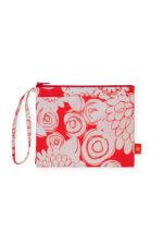 Zipper Purse Floral Mandarin_02